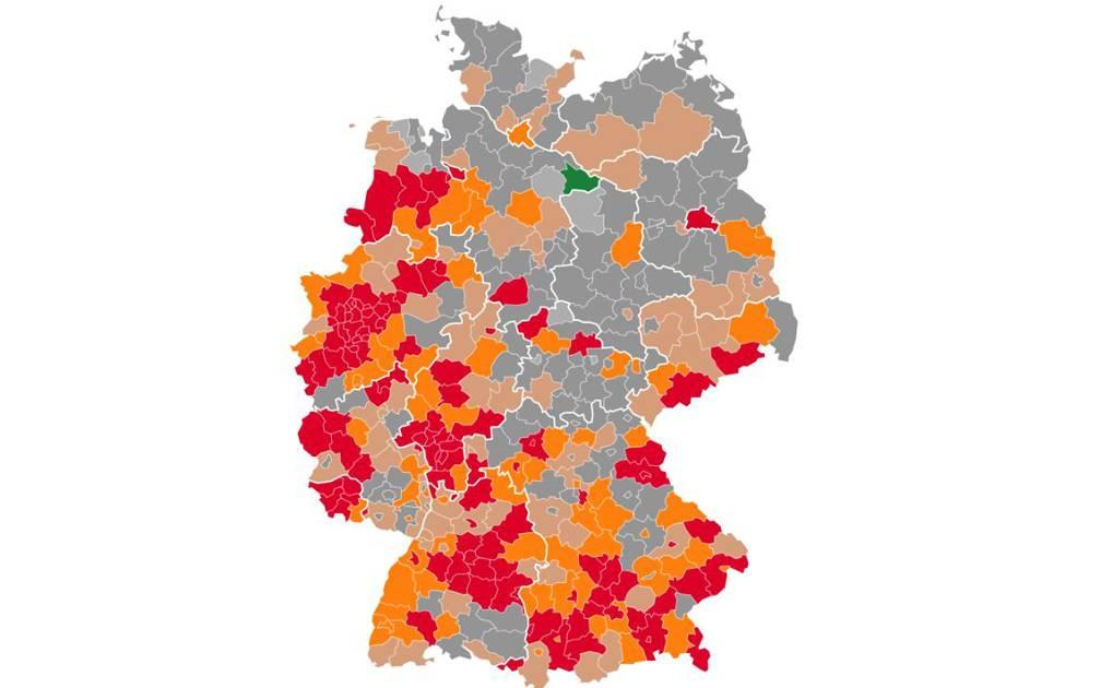 Neuinfektionen Deutschland Karte