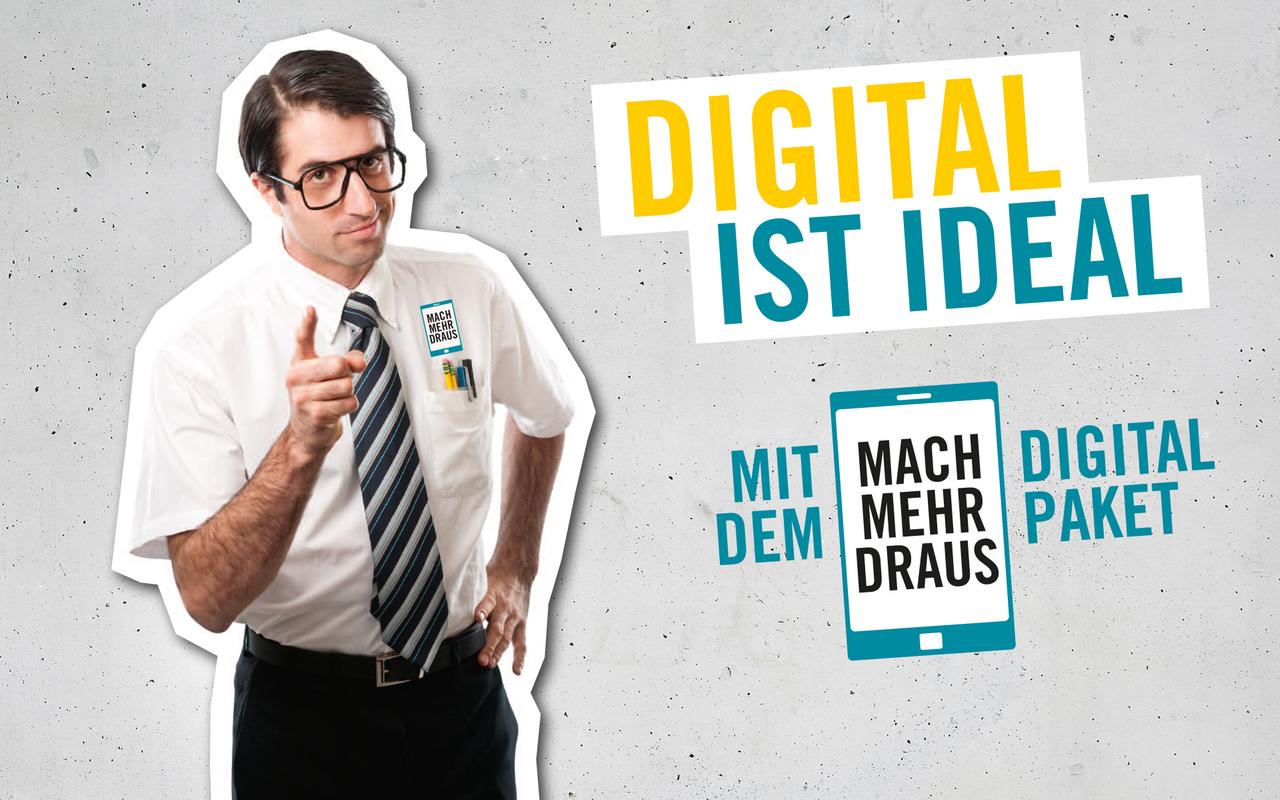 Mit unseren digitalen Angeboten sind Sie auf der pole Position!
